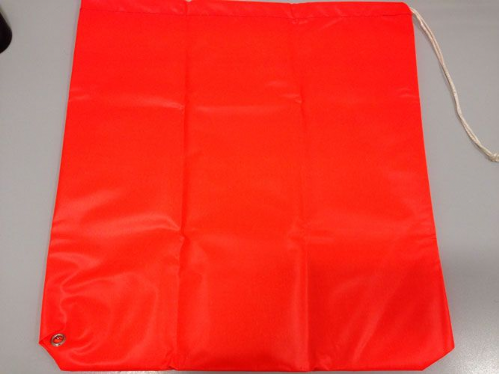Prop Bags for Outboard Motor Propellors Orange